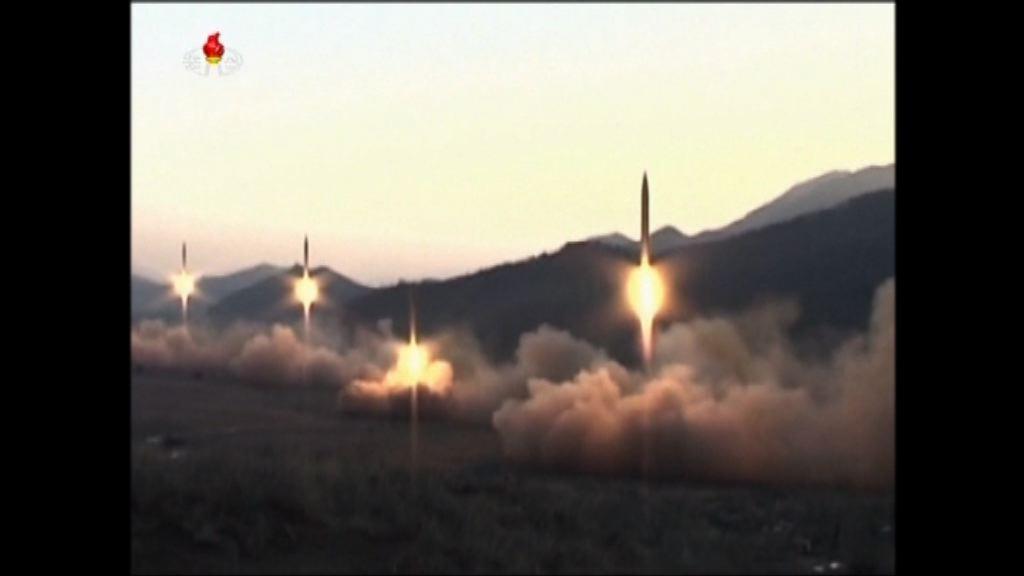北韓首次公開彈道導彈精確數據