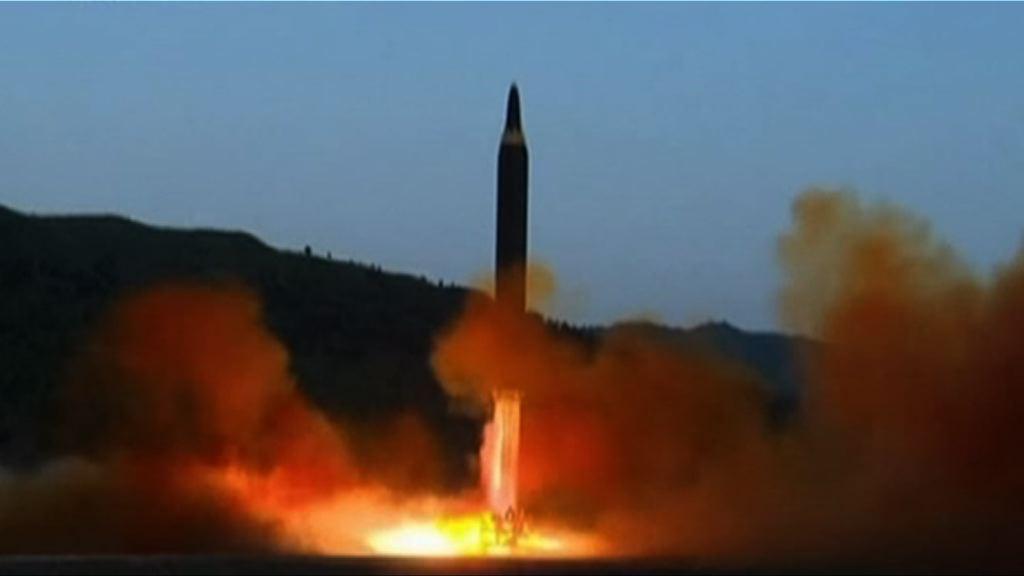 北韓疑試射導彈失敗墜落城市