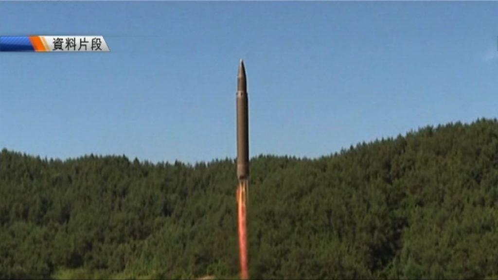 日媒指北韓或數天內再發射導彈