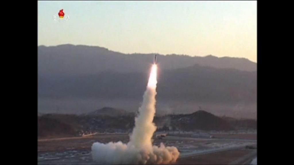 北韓今早試射導彈失敗
