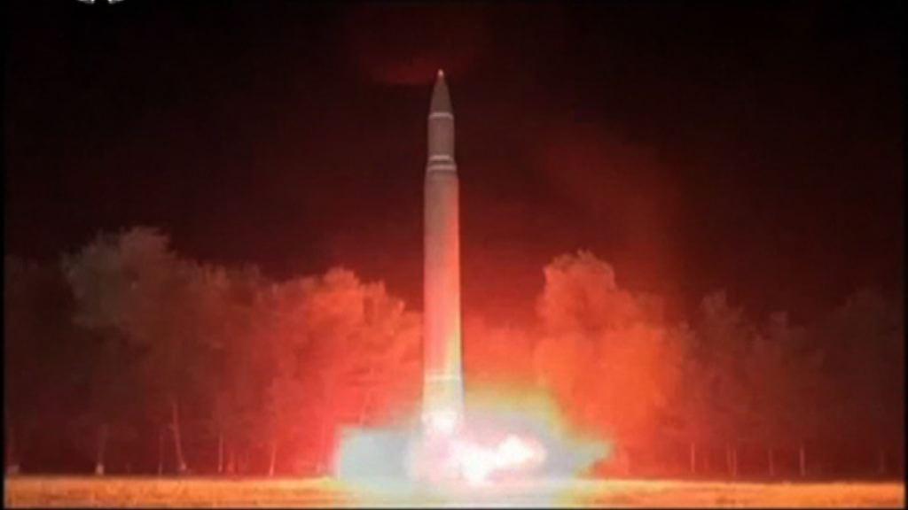 北韓成功試射導彈 南韓擬作單邊制裁