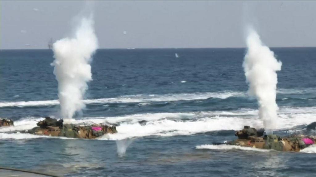 美韓軍演演習打擊北韓核心設施