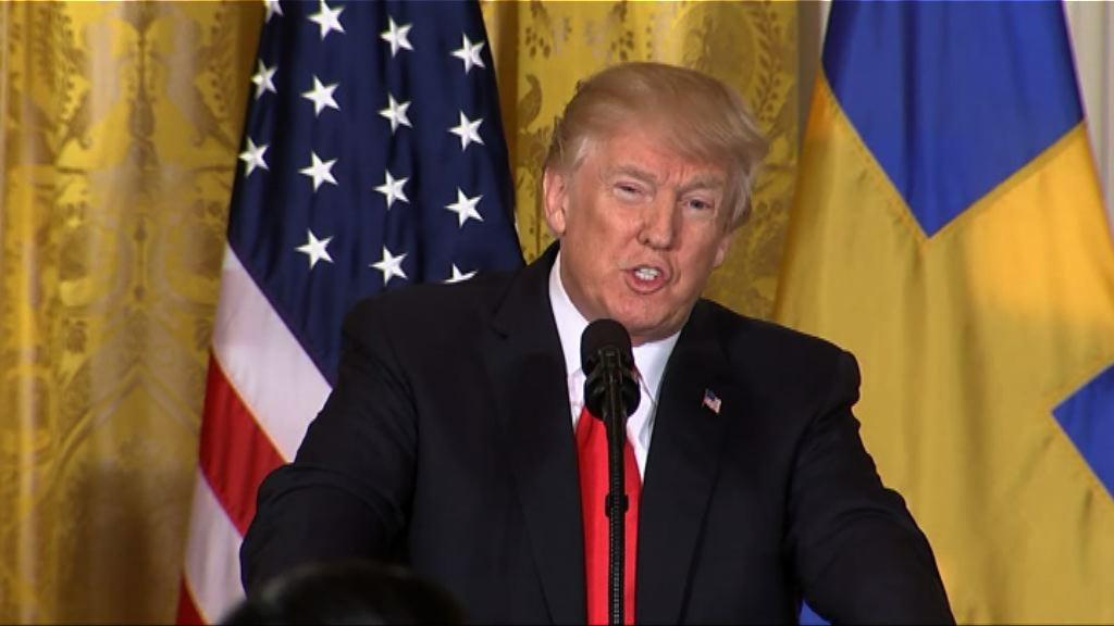 特朗普:北韓表現誠懇因制裁奏效