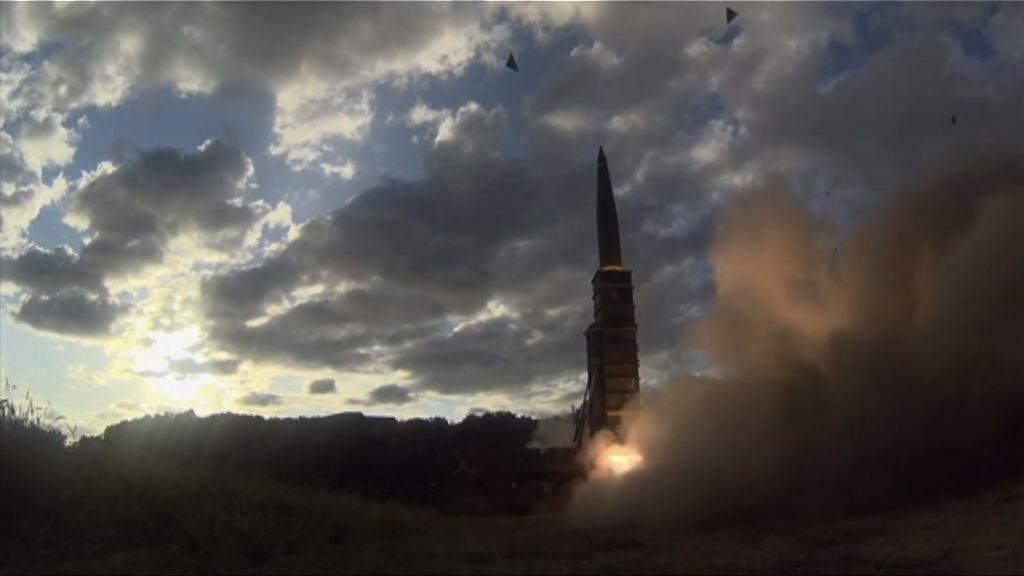 南韓發射玄武導彈回應北韓試射