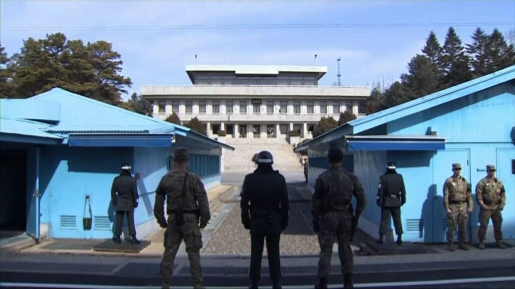 北韓士兵經板門店投奔南韓途中被槍傷