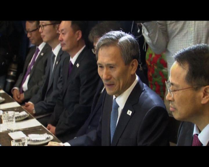 南韓總理2007年以來首晤北韓官員