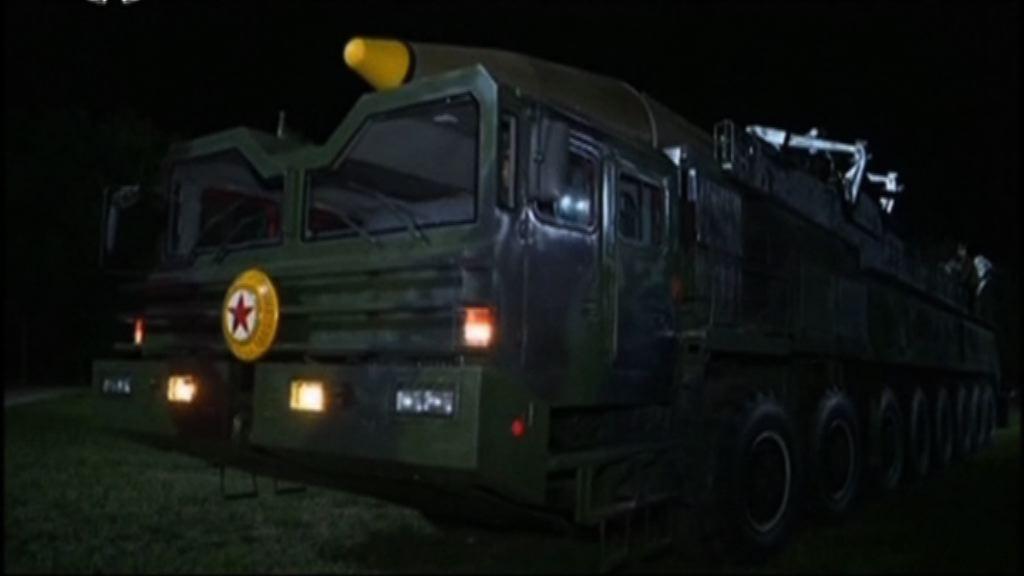 北韓導彈發射車再有異動