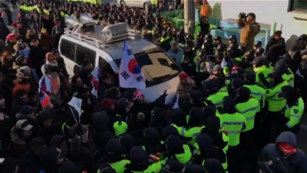 南韓有示威者抗議北韓參加平昌冬奧