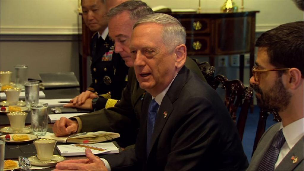 美防長指未有打算放棄以外交解決北韓問題