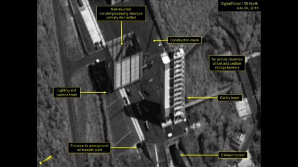 北韓或正拆除導彈發射場設施