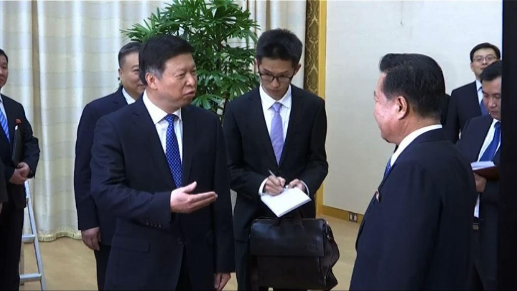 中國特使宋濤抵達北韓與崔龍海會面