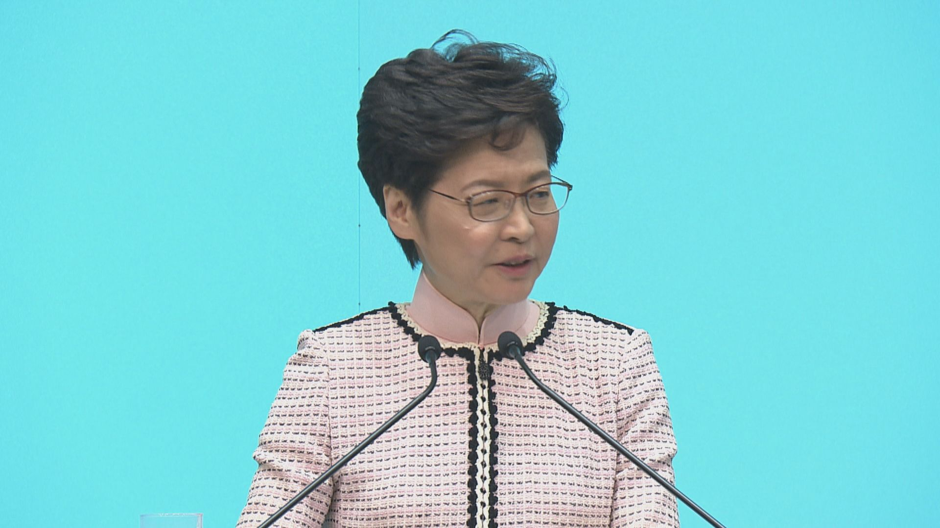 【最新】林鄭月娥:任內重推23條立法機會低
