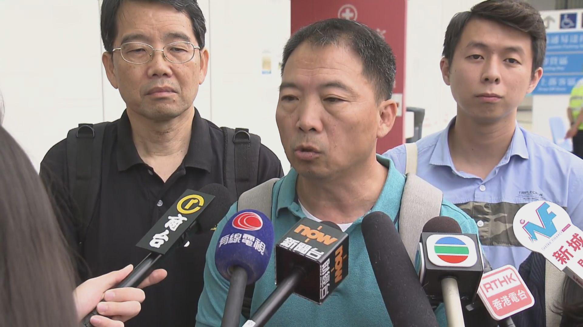 【最新】胡志偉:鄺俊宇清醒 正等待進行電腦掃描