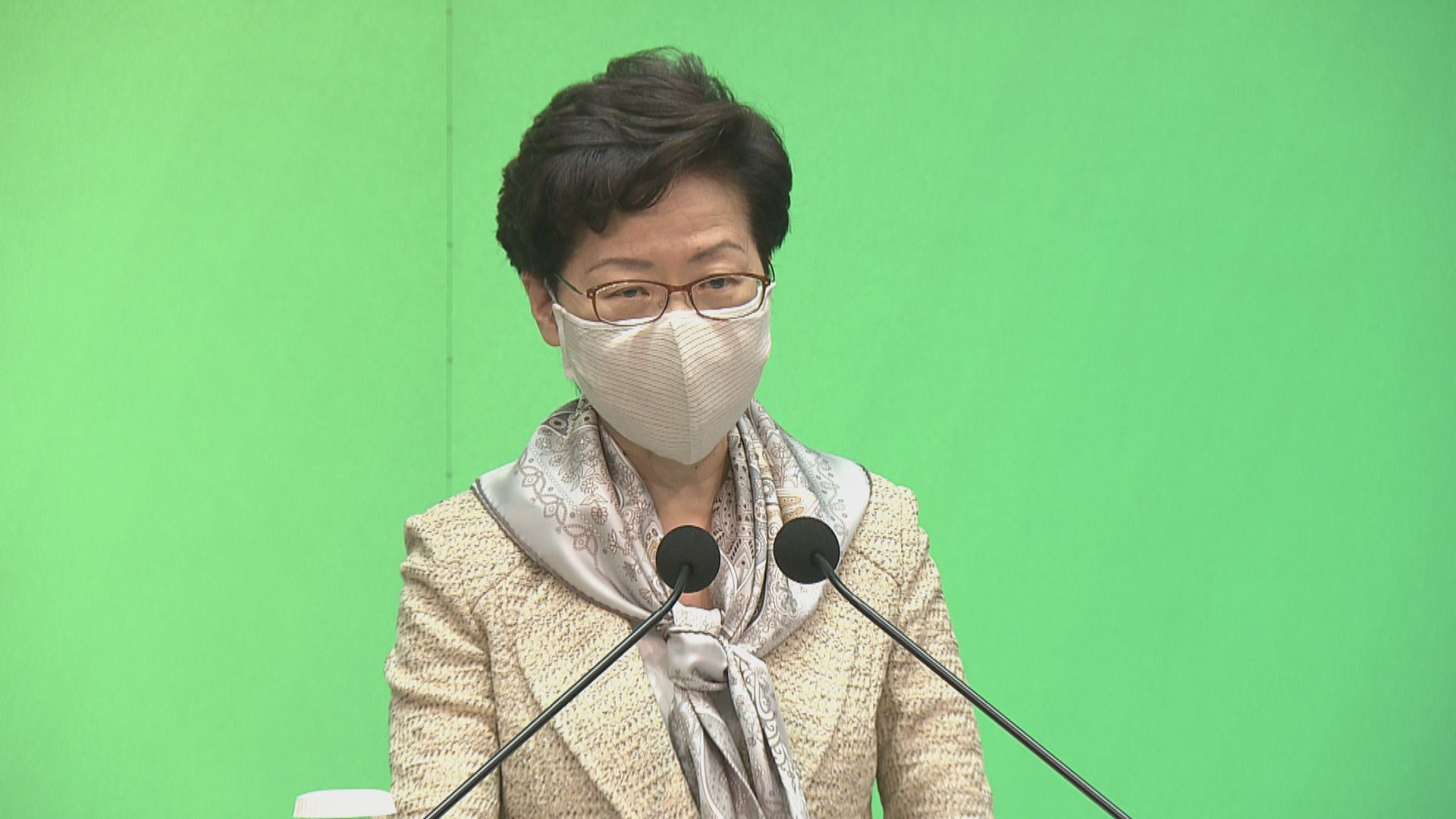 【最新】林鄭月娥:專家同意防疫措施維持現狀 不用改變復課安排