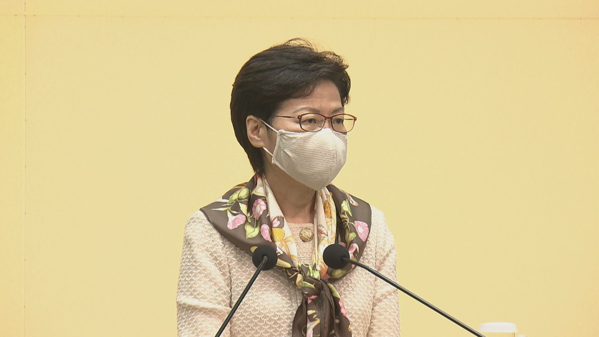 【最新】林鄭:是否對華大基因作懲罰需視乎會否影響本港抗疫能力