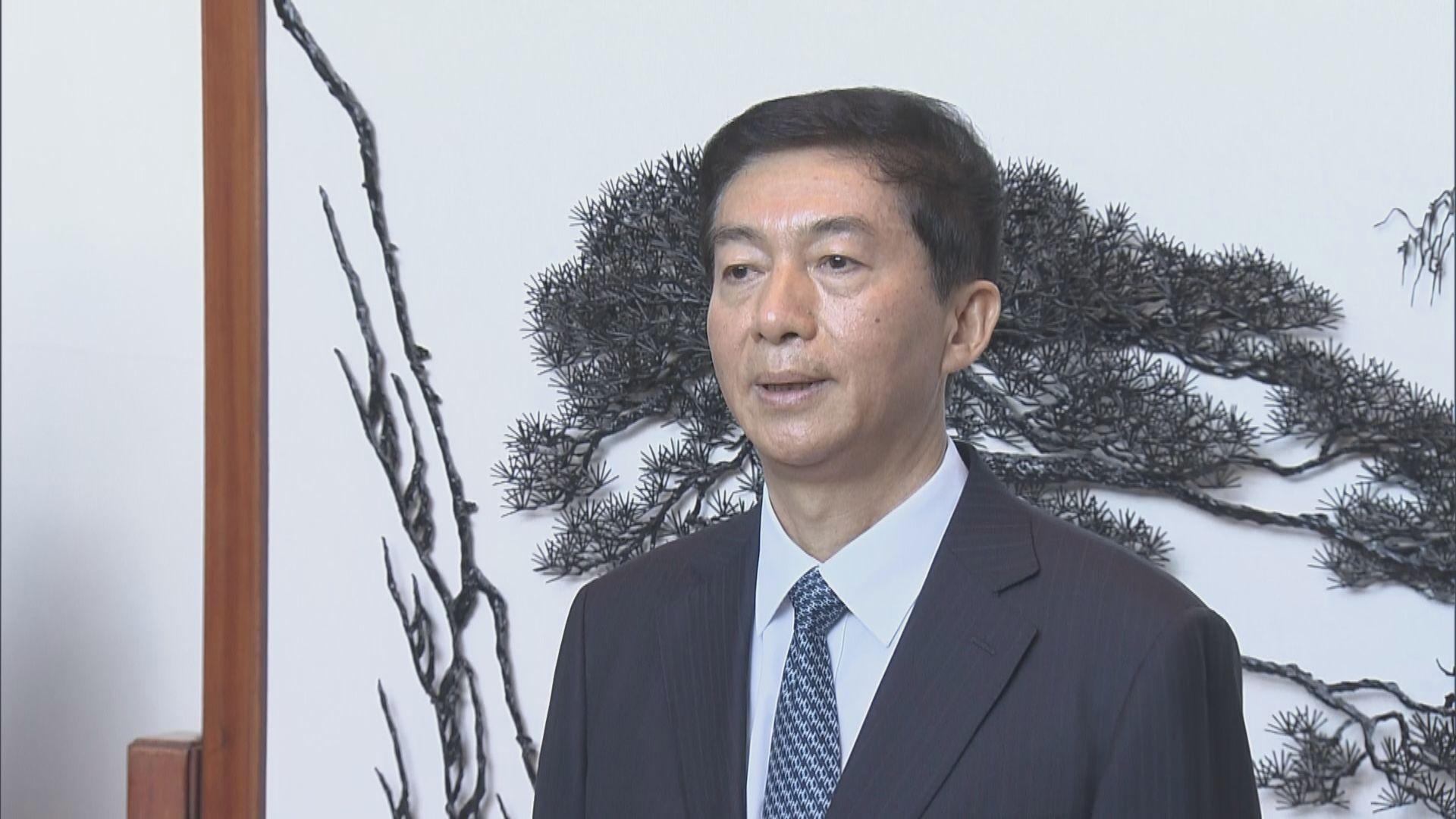 【足本】新任中聯辦主任駱惠寧首次見傳媒
