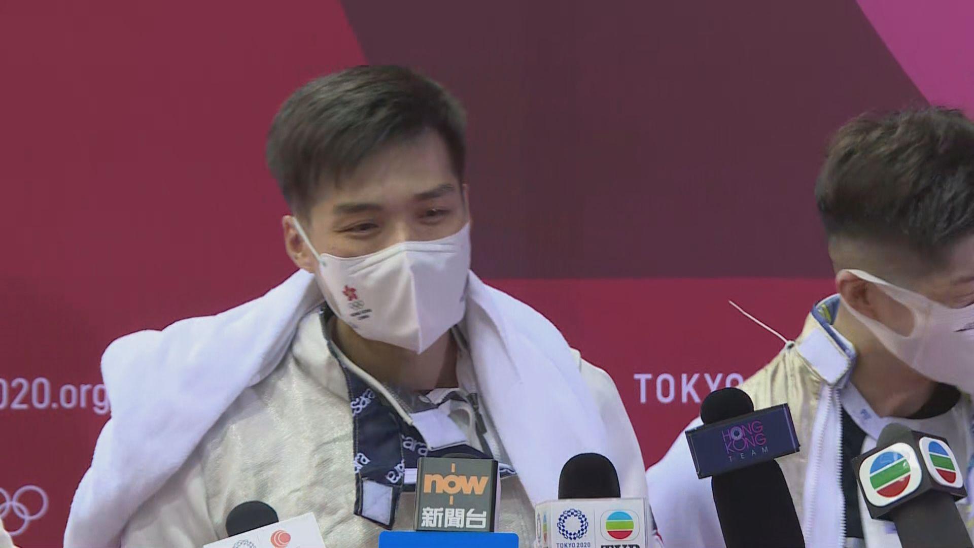 【運動員心聲】花劍代表張小倫:盼另外三位年輕隊友放眼世界預備下屆奧運