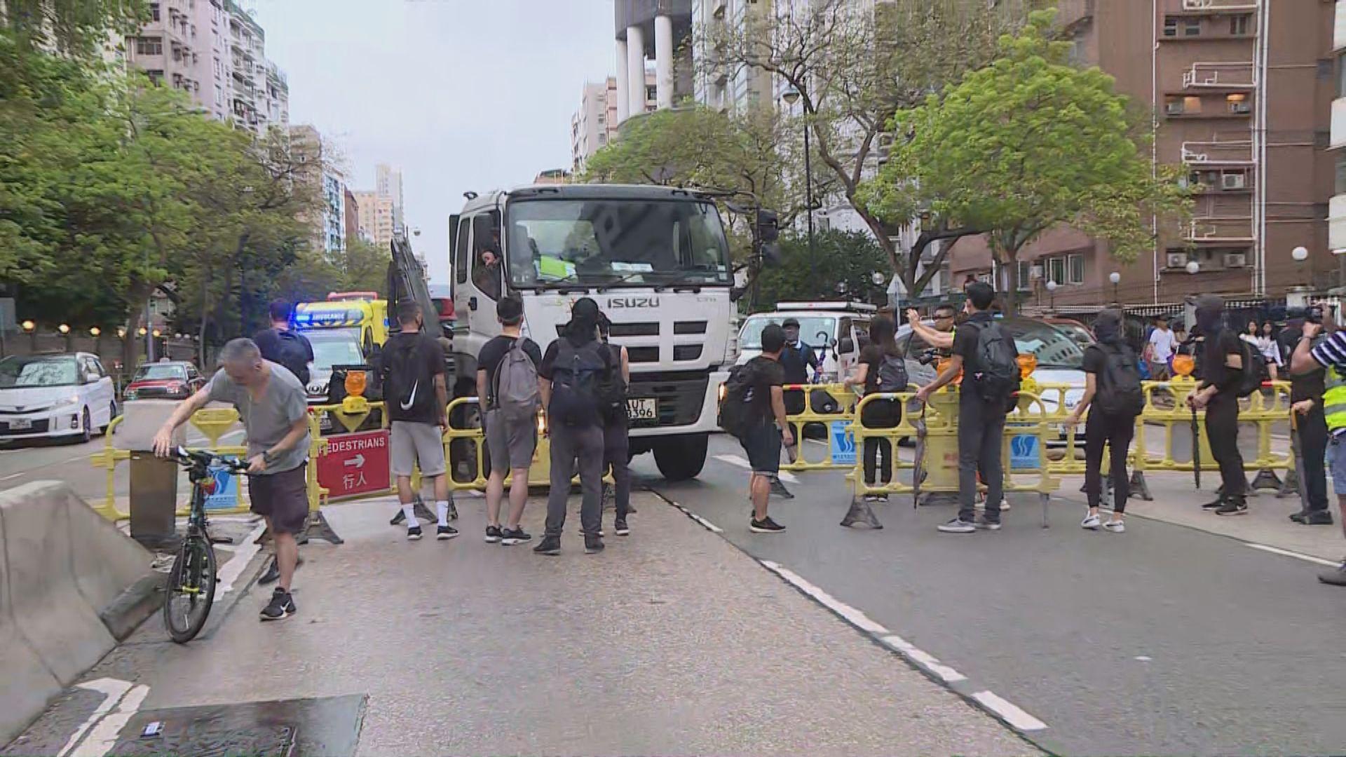 【現場報道·紅土遊行】遊行人士堵塞太子道西部分行車線