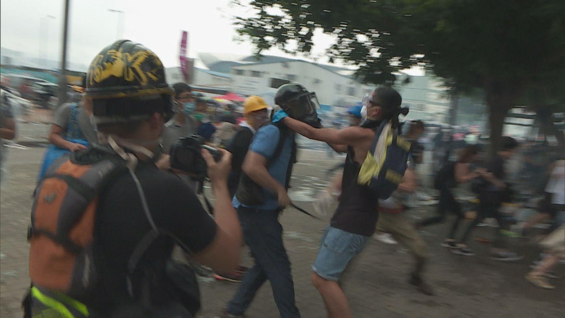 【獨家】金鐘反修例示威全紀錄