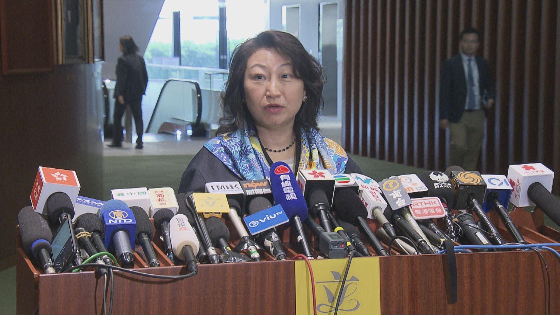 【最新】鄭若驊:極不同意港府故意放棄司法管轄權說法