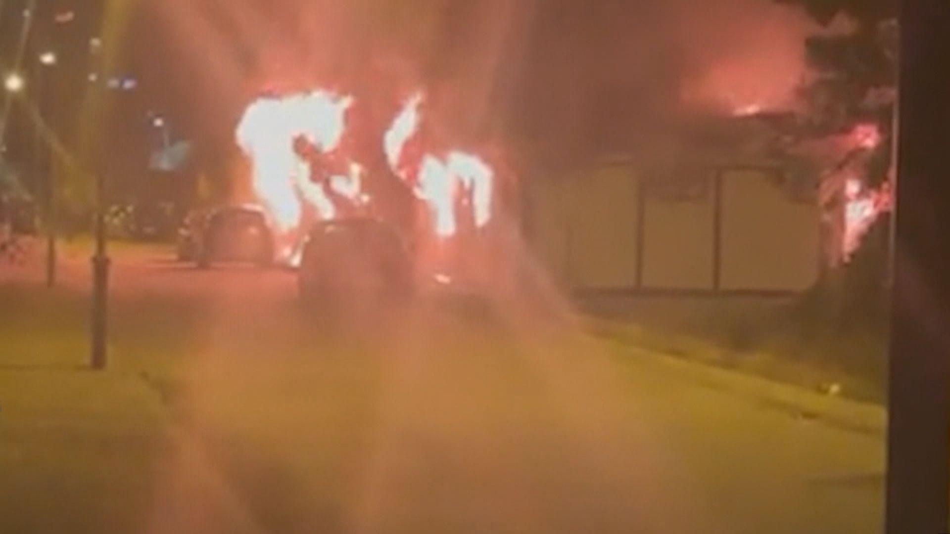北馬其頓醫院大火 最少10人死亡
