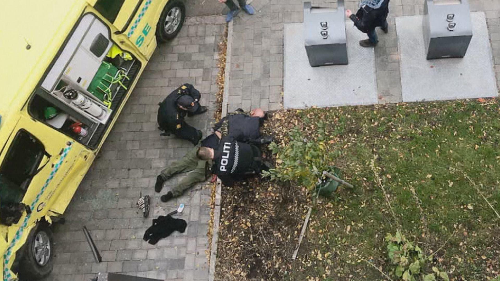 挪威奧斯陸一男子偷駕救護車撞人