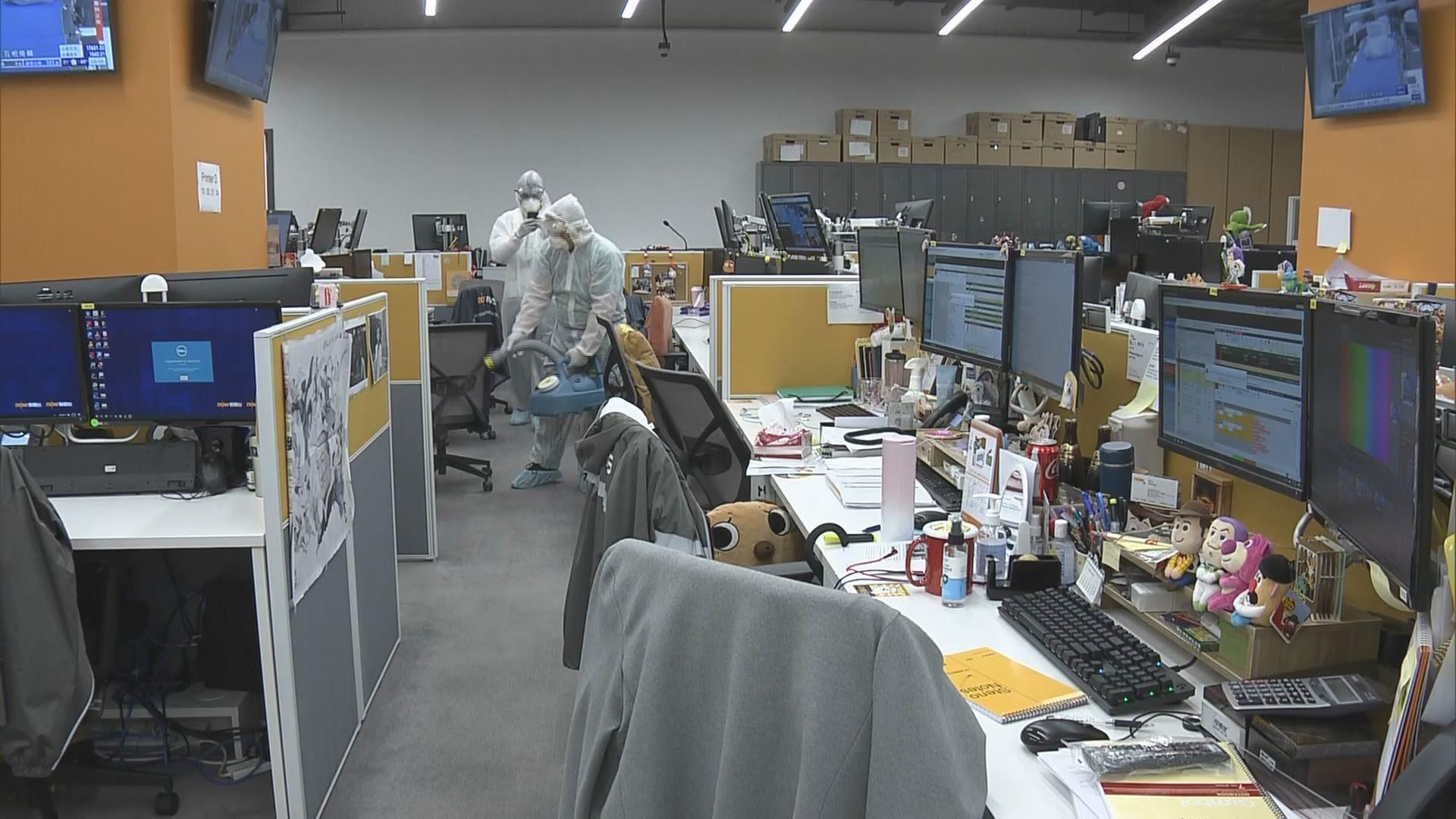 衞生防護中心正調查本台確診剪接師的病源