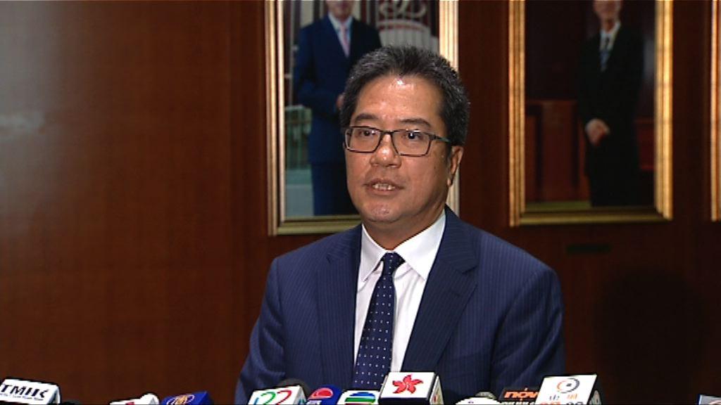 駐京記者採訪被阻 黃偉綸:應按現有機制處理