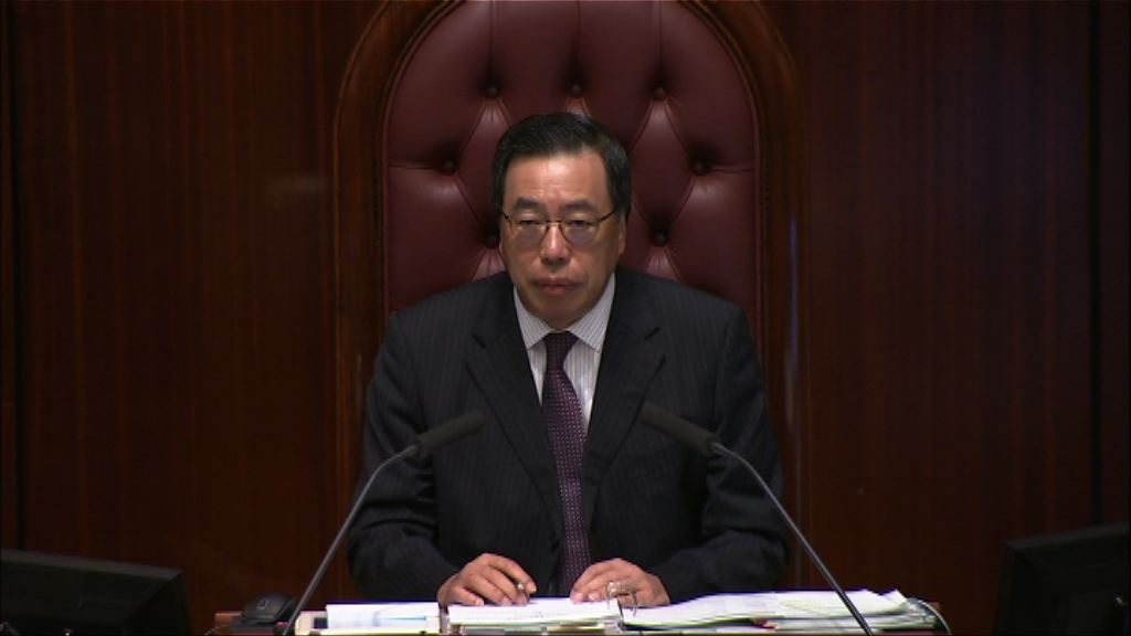 梁君彥否決緊急辯論 指記者採訪遭阻撓非迫切