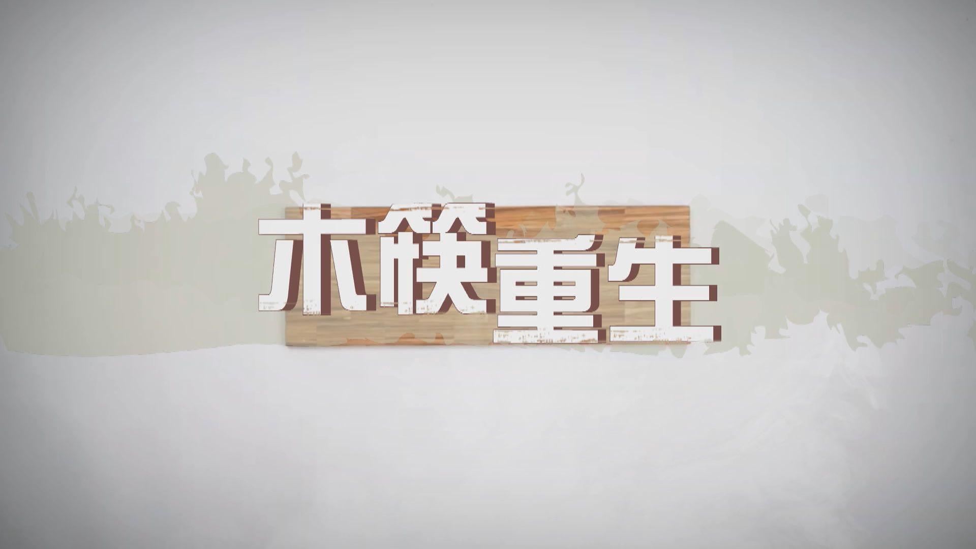 【新聞智庫】木筷重生
