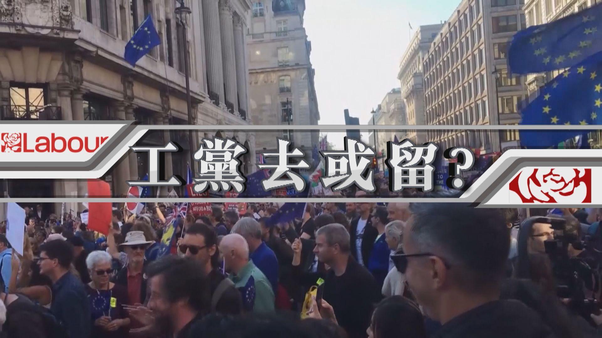 【新聞智庫】郝爾彬脫歐立場模稜兩可 英國工黨去或留?