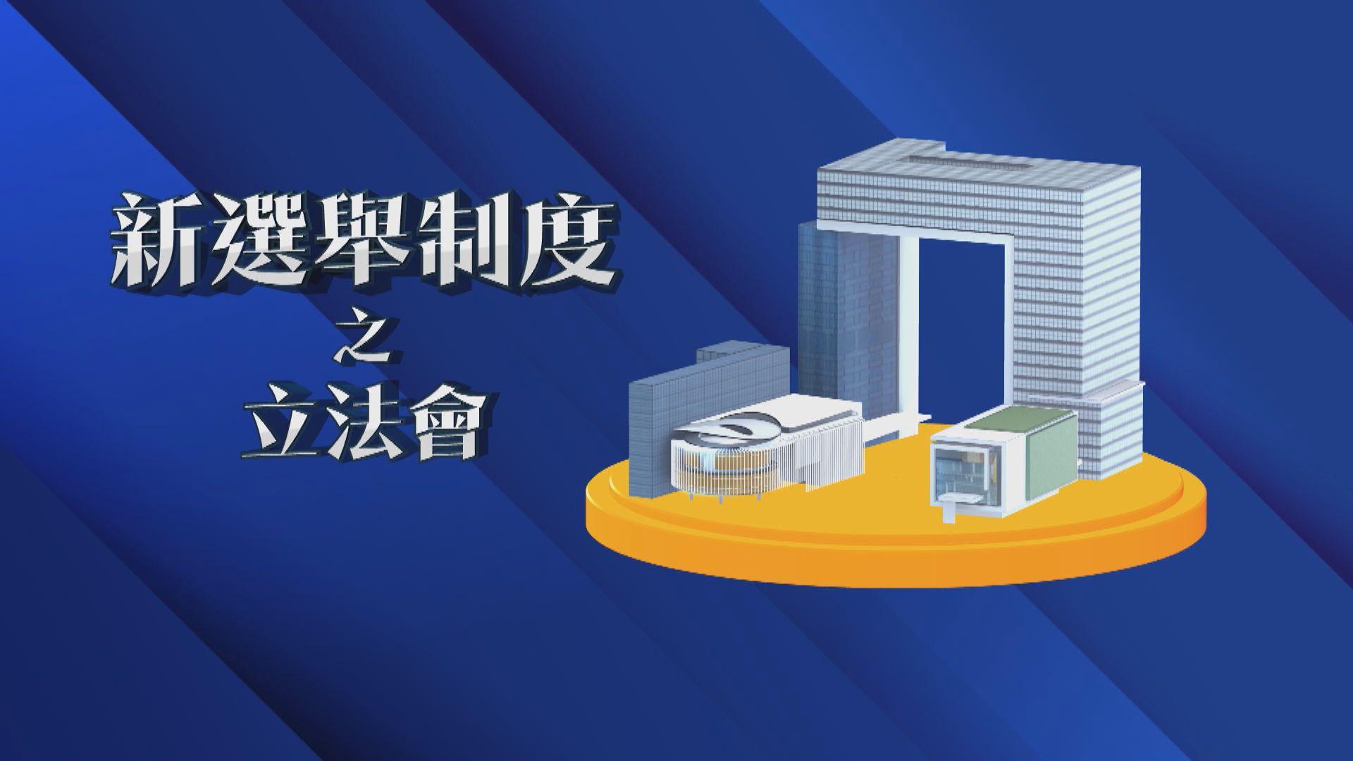 【新聞智庫】新選舉制度之立法會