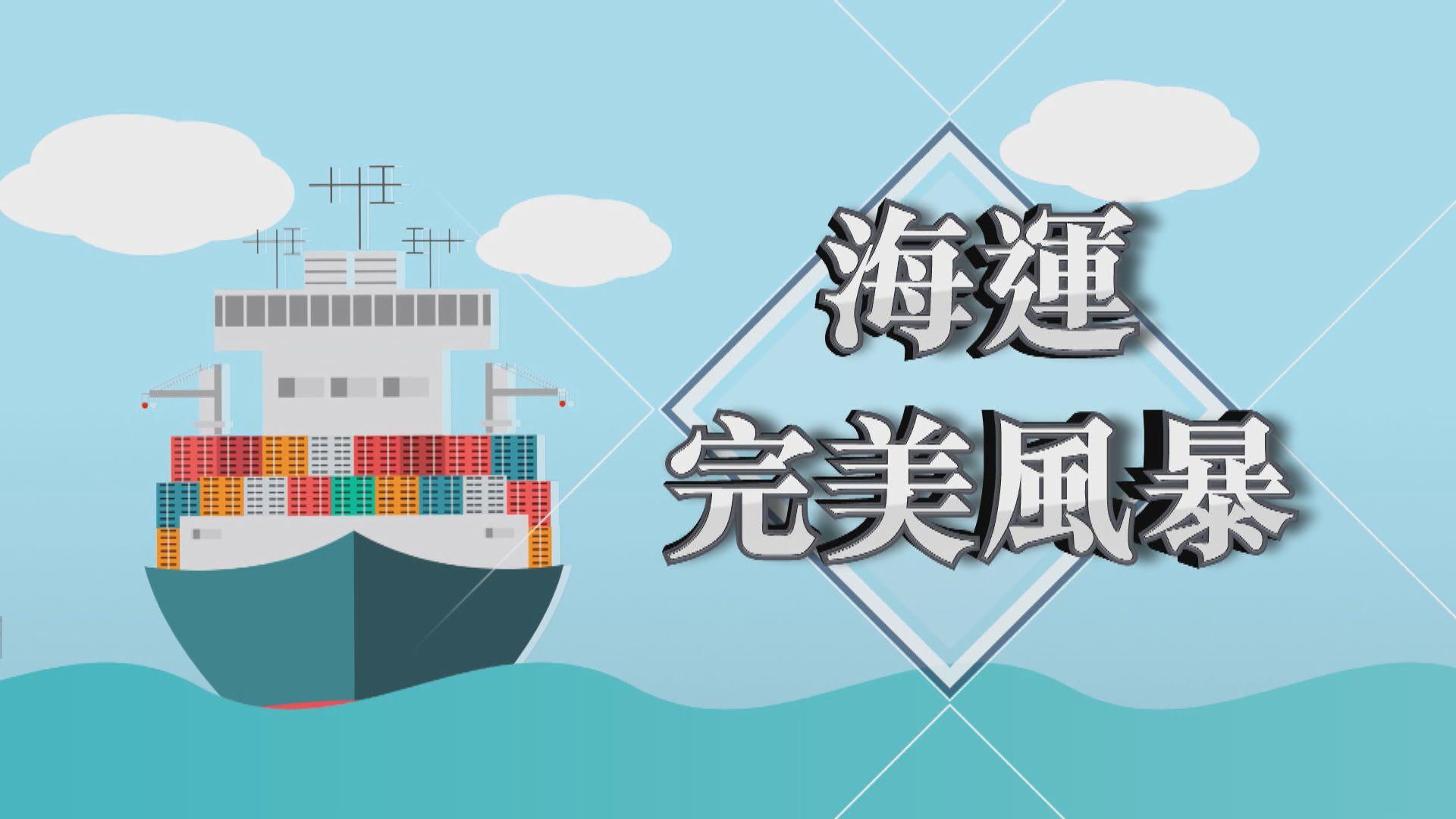 【新聞智庫】海運業完美風暴