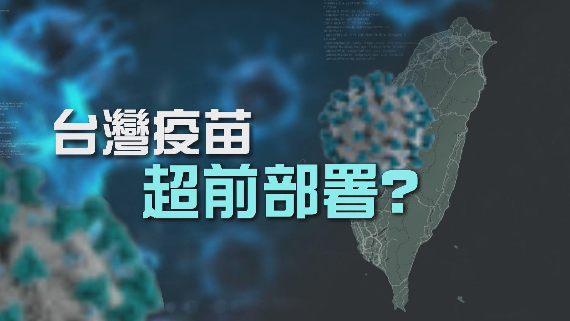 【新聞智庫】台灣疫苗超前部署?