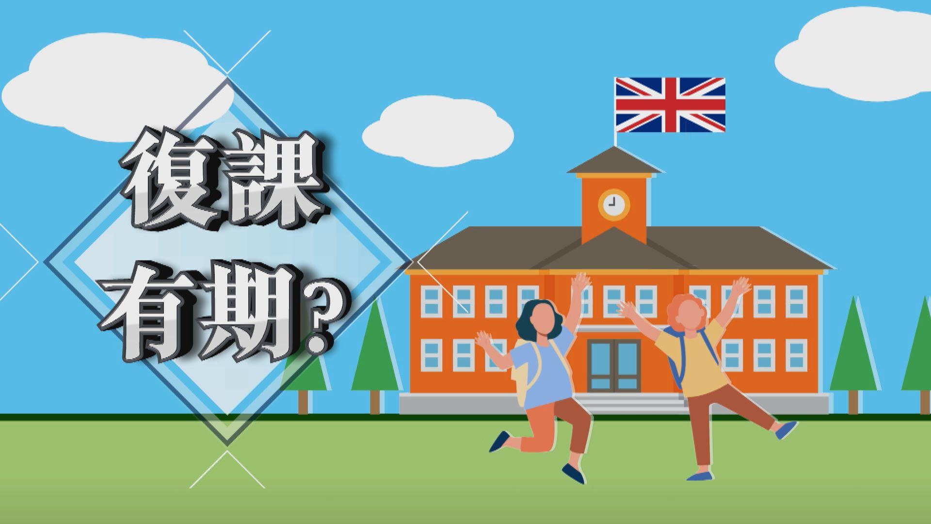 【新聞智庫】英國學生復課有期?