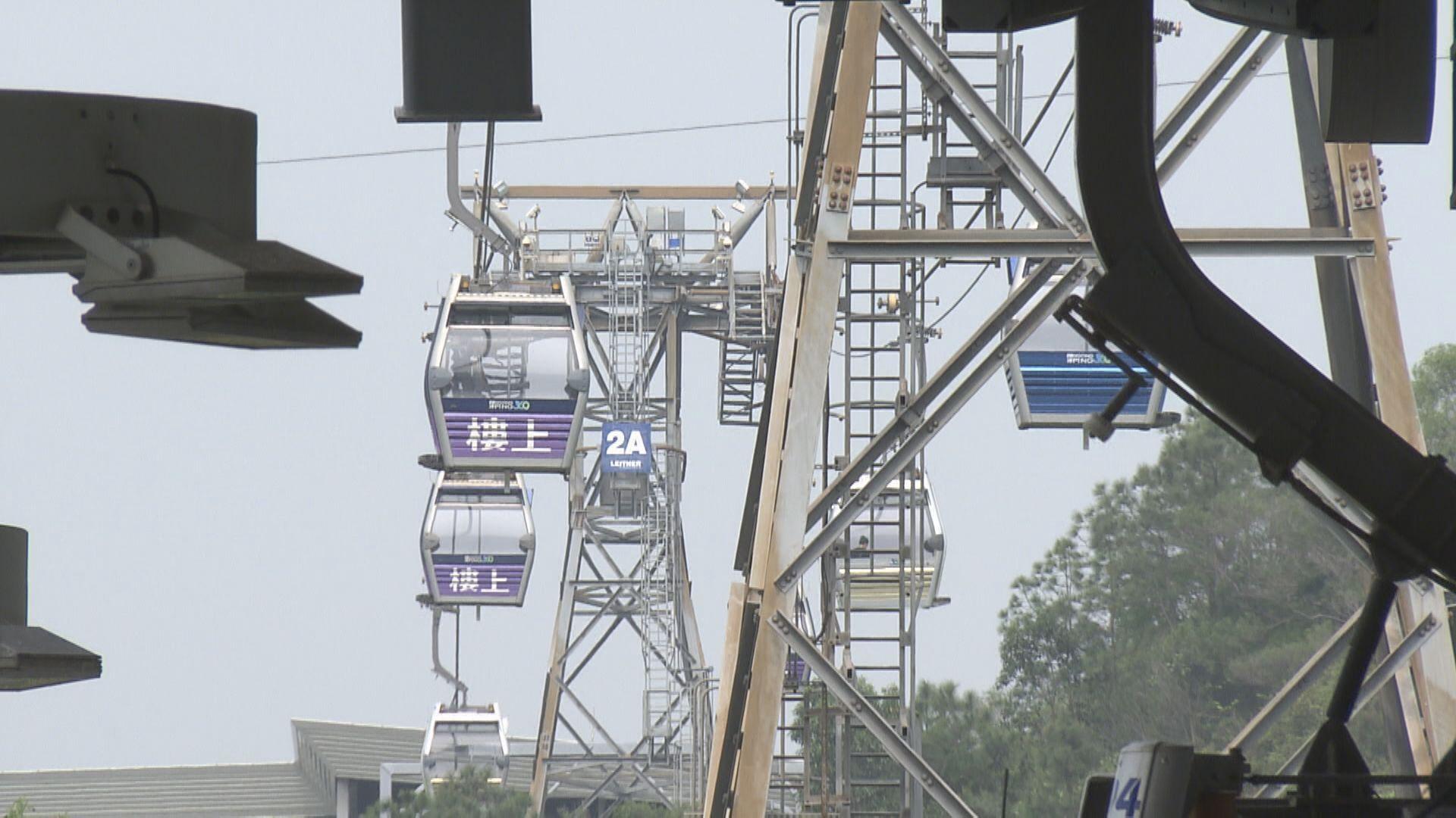 昂坪360纜車明起重開 昂坪市集室內景點仍暫停開放