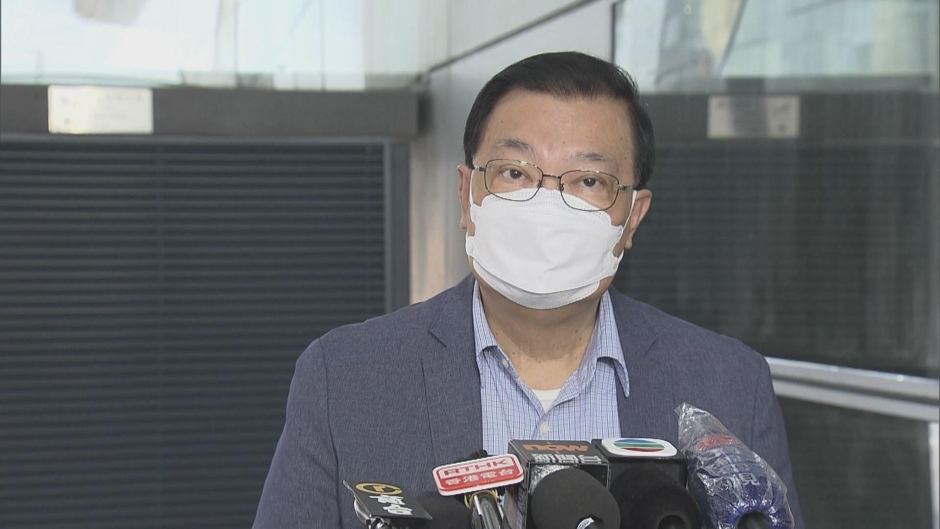 譚耀宗:暫時未聽到民主派議員會杯葛真空期的議會