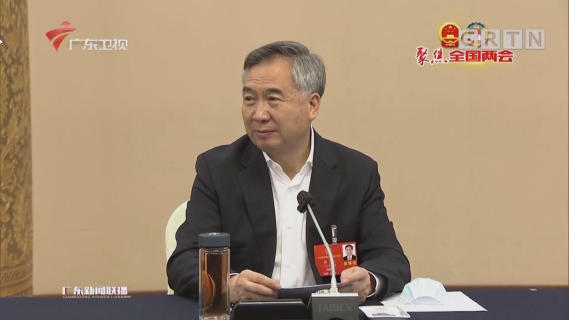 省委書記李希:廣東會落實部署支持香港國安法立法