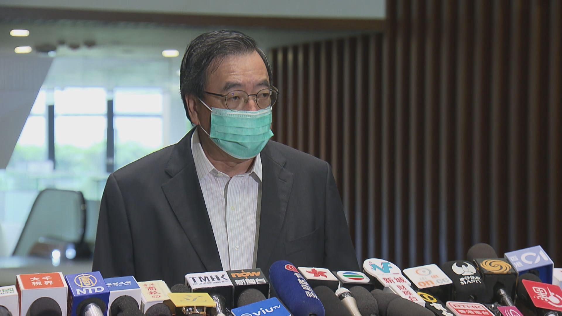 梁君彥對中央在港立國安法表示尊重、理解及支持