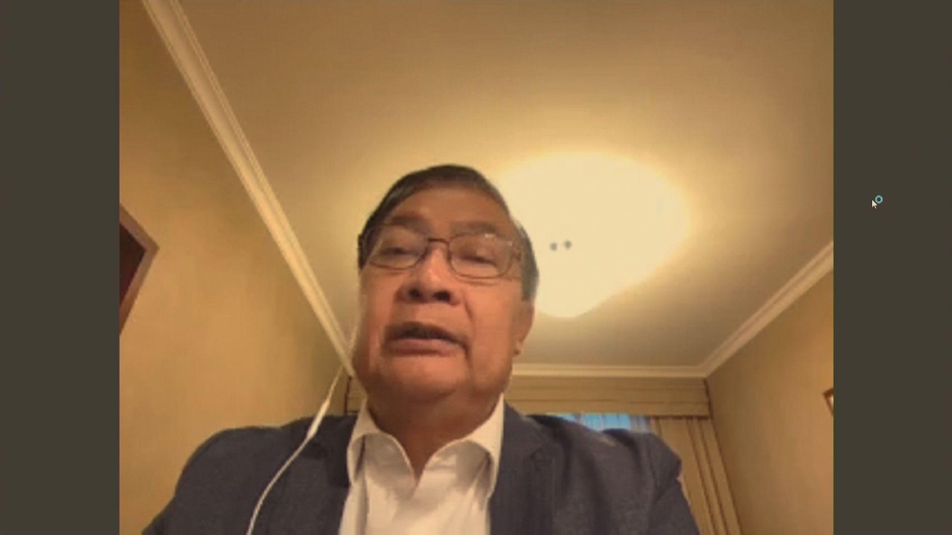 譚耀宗相信展示龍獅旗或違香港國安法