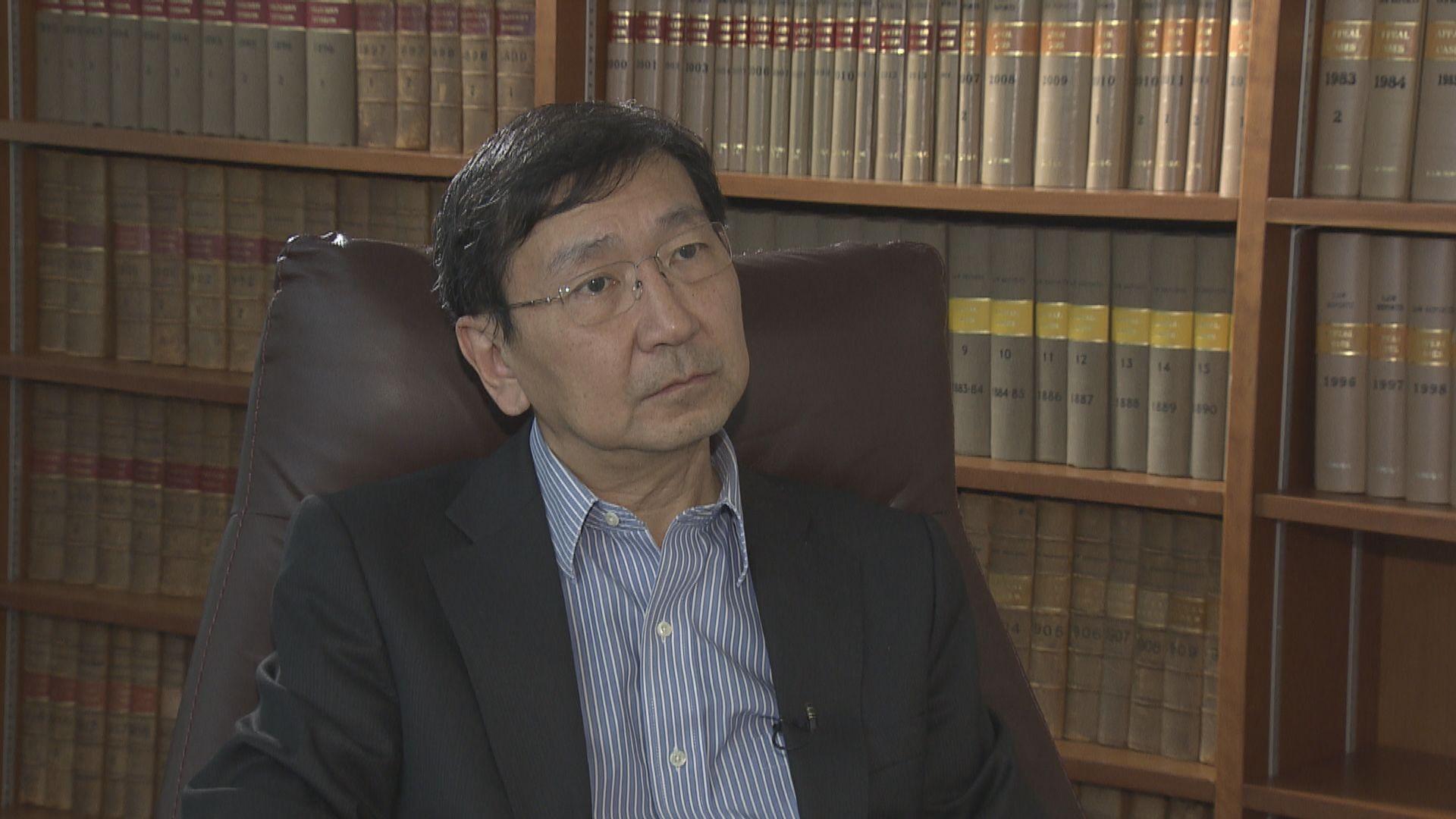 駐港公署有案件管轄權 陳文敏:將中國刑事制度帶到港