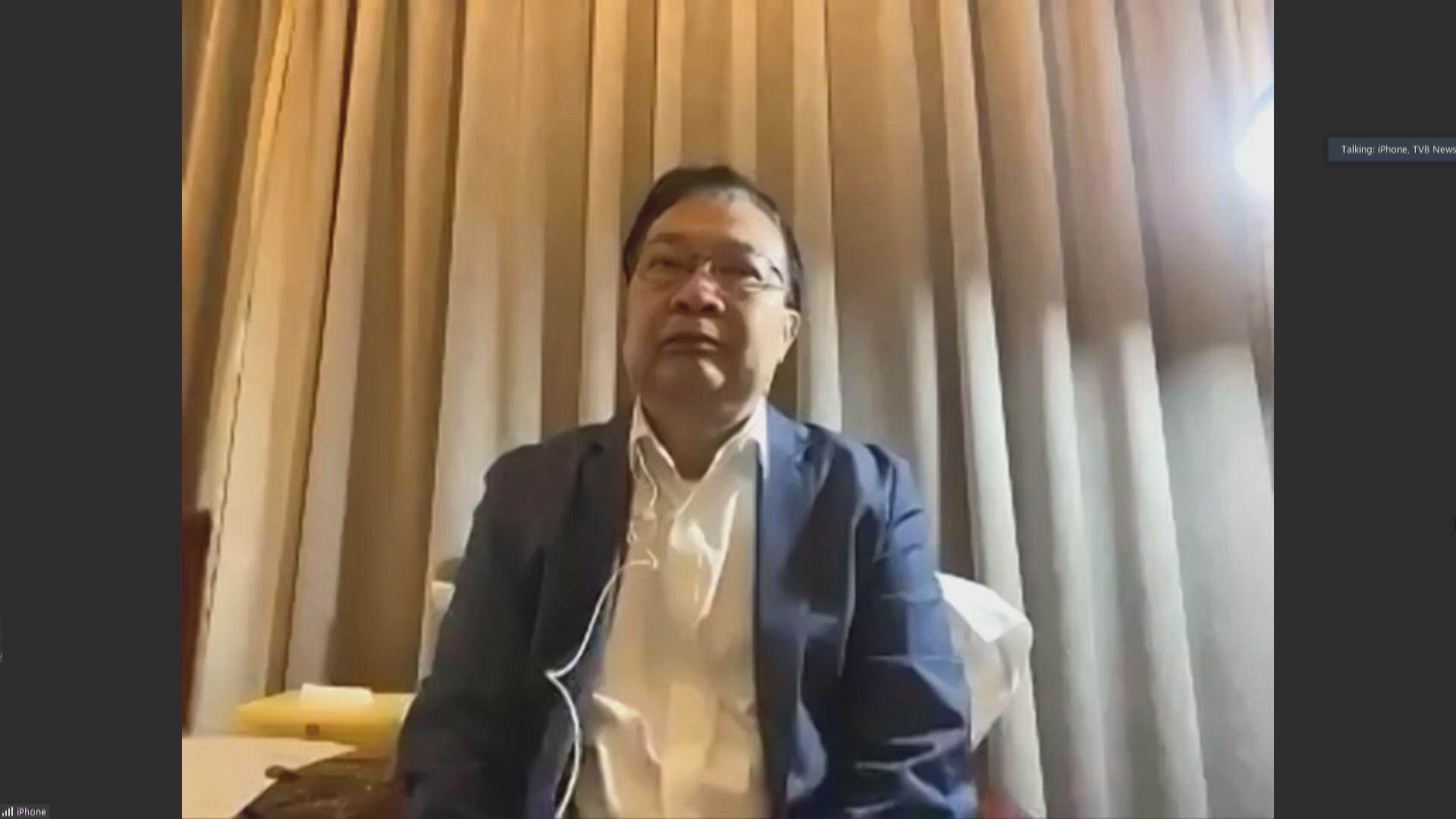 譚耀宗:料下午會議閉幕後才公布國安法草案條文
