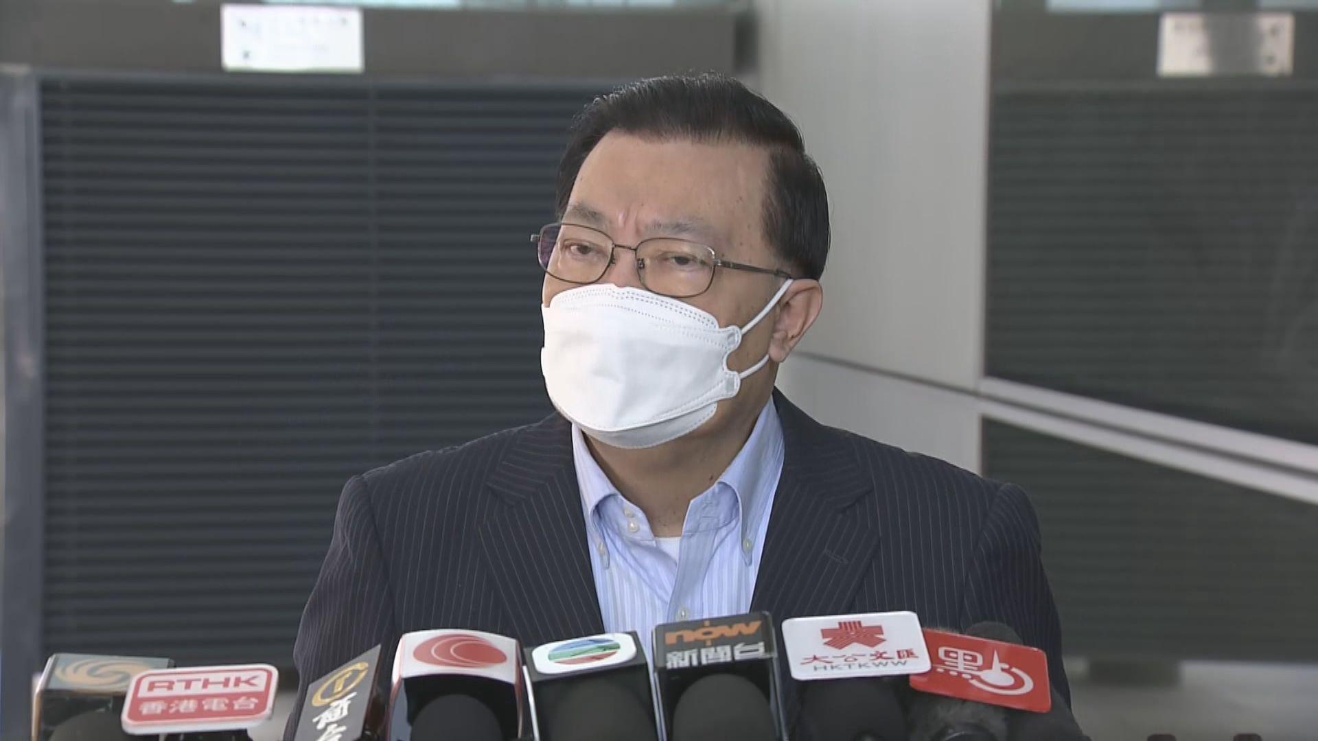 譚耀宗:若討論成熟 人大常委或周二表決修改香港選舉制度