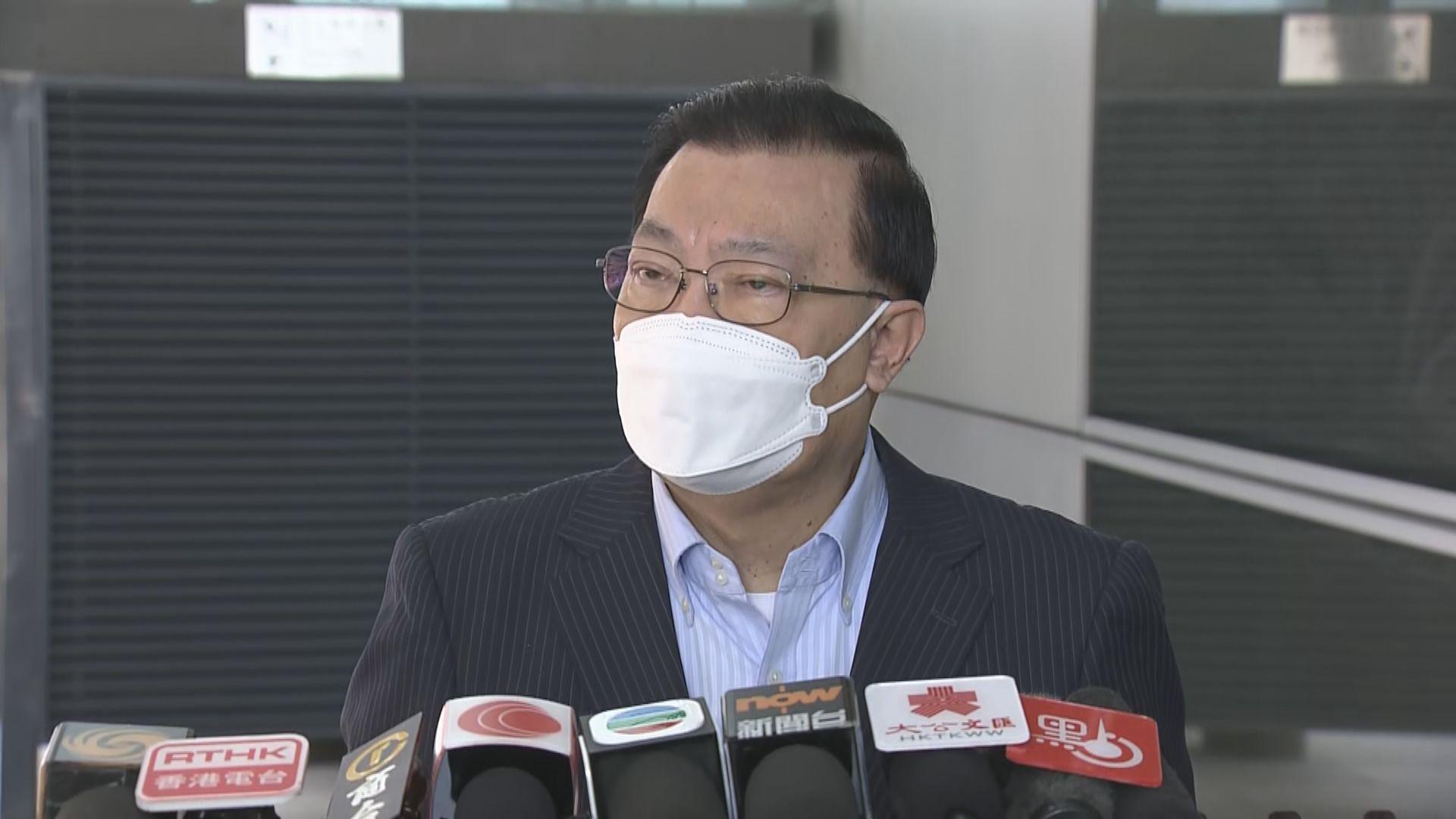 譚耀宗:人大常委或周二表決修改香港選舉制度