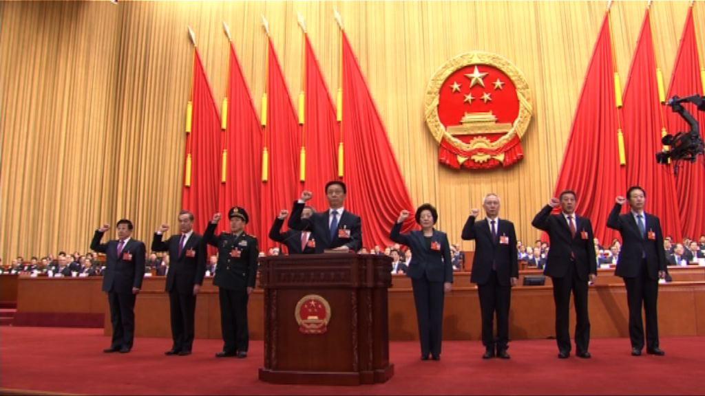 李克強內閣名單獲通過 料韓正任常務副總理