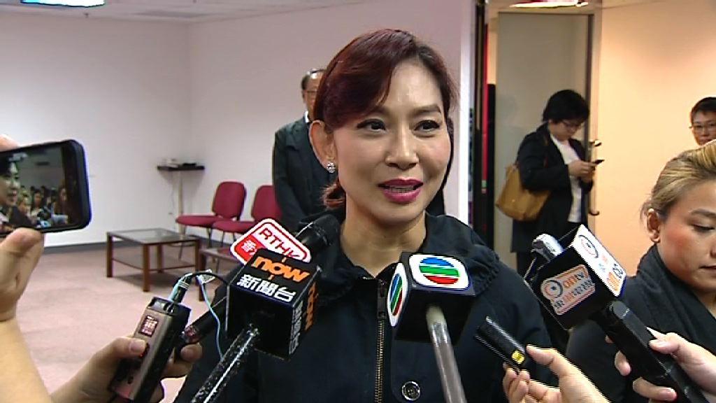 鄺美雲:獲得多個界別提名參選人大