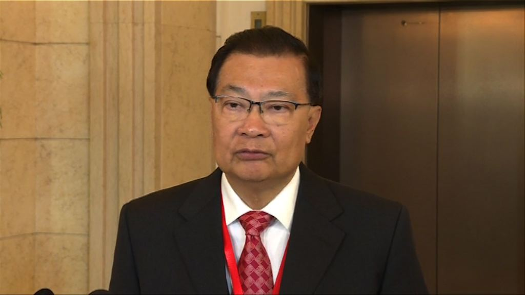 譚耀宗:上任後首要任務宣傳修憲法案內容