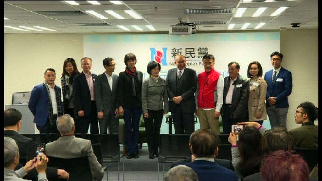 葉劉淑儀:新民黨選委不綑綁投票