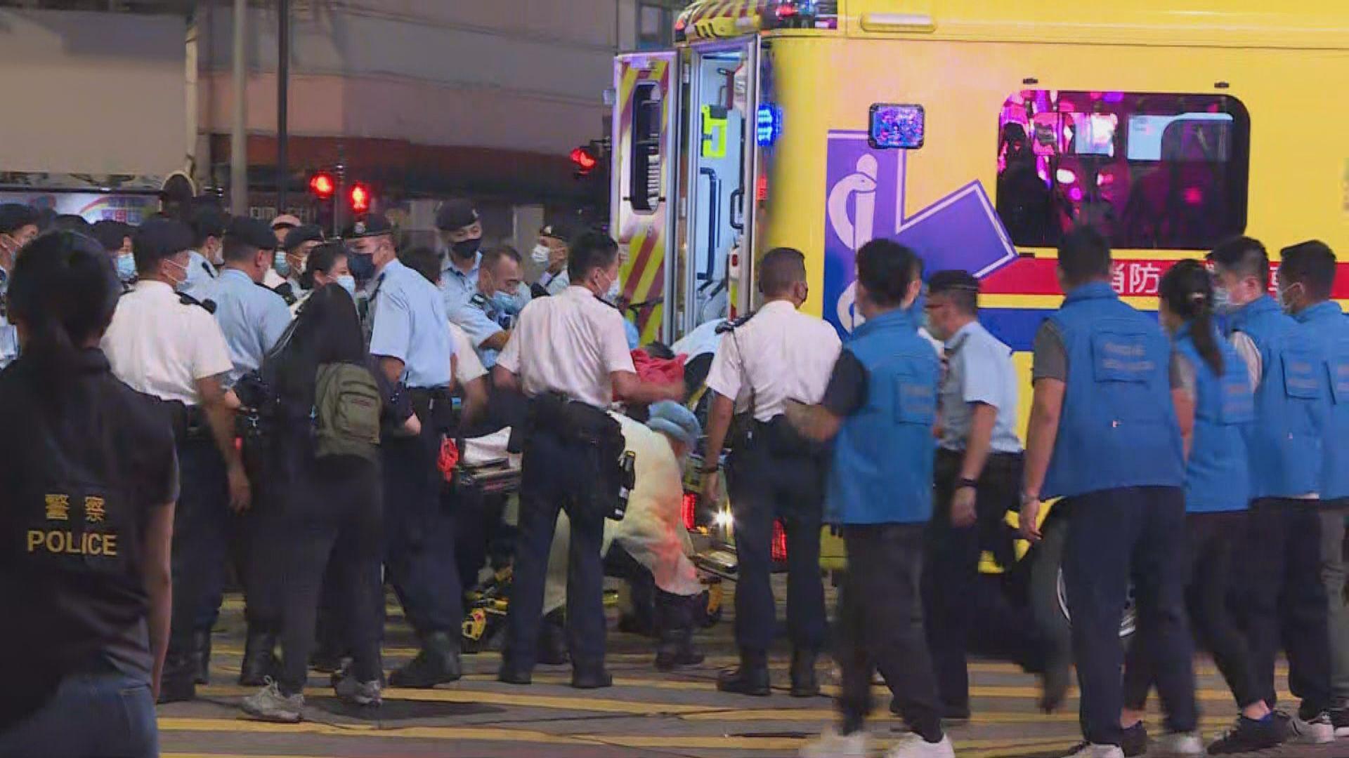 七一襲警案列企圖謀殺及自殺 警方仍調查疑兇犯案動機