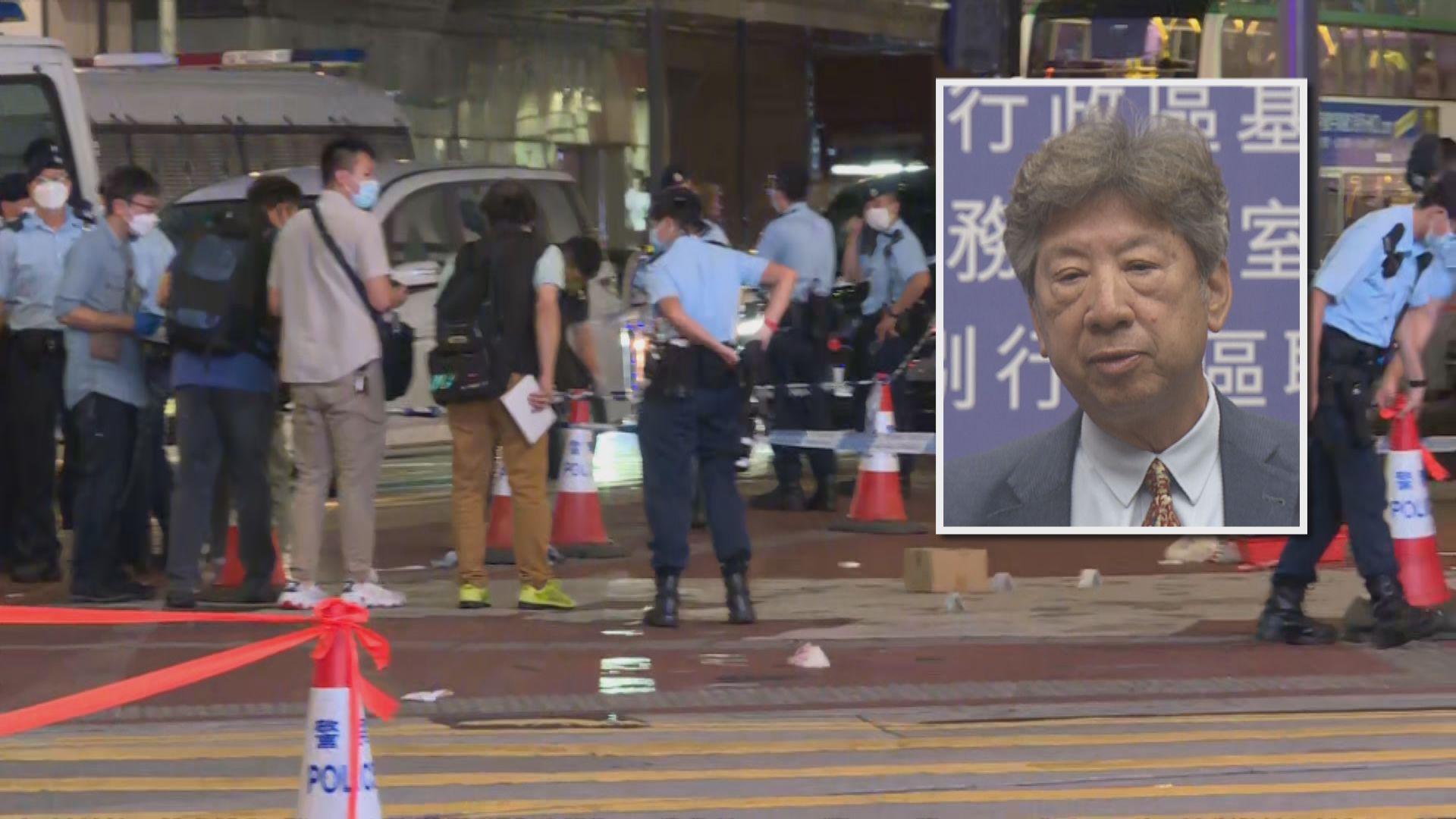 湯家驊:宣揚襲警疑兇行為有機會違反國安法